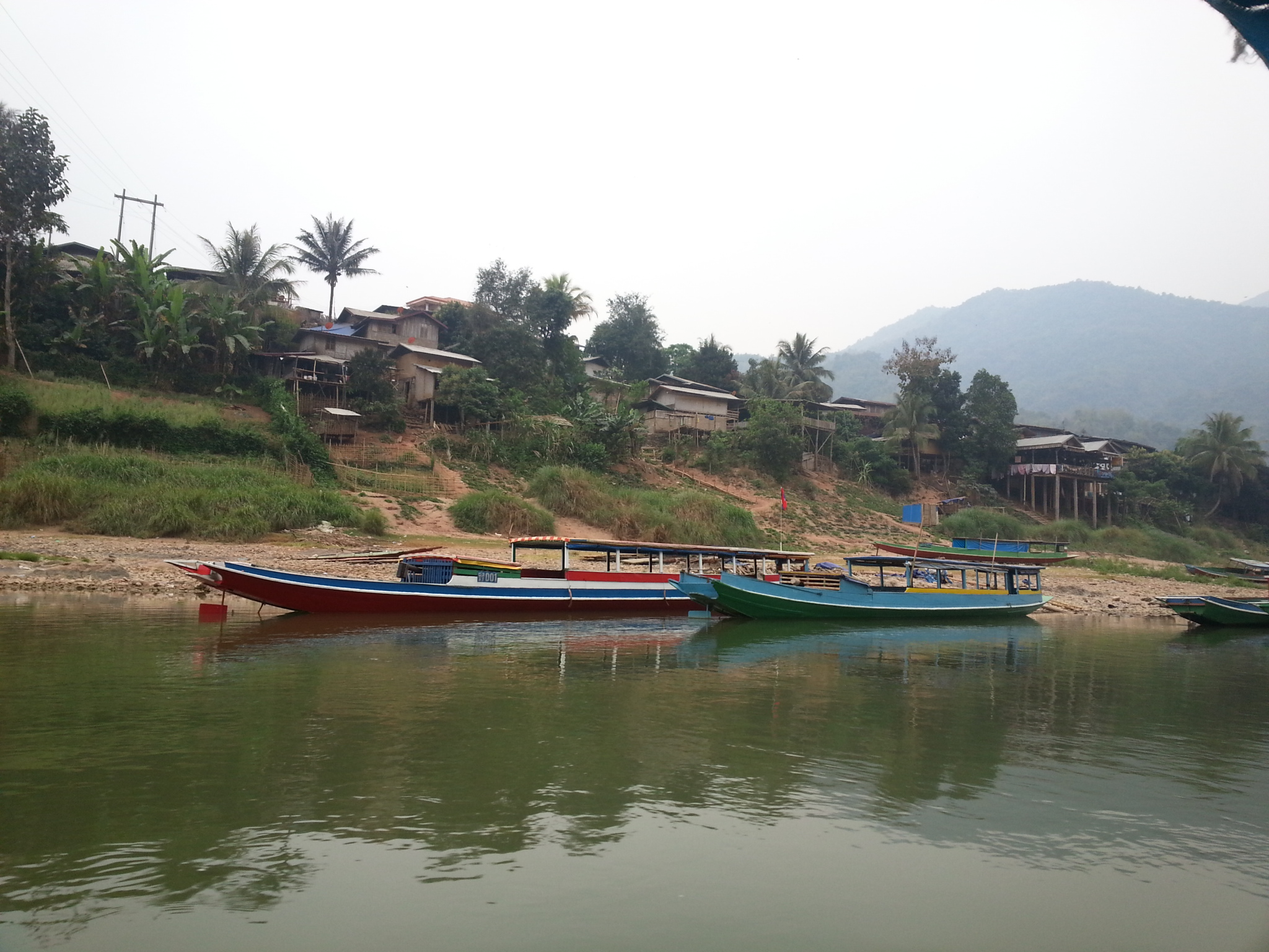 Our boat from Muong Khua to Nong Khiau