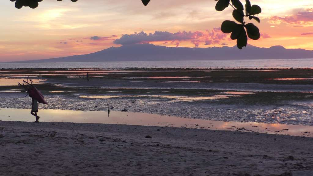 The marvelous sunset in Siquijor