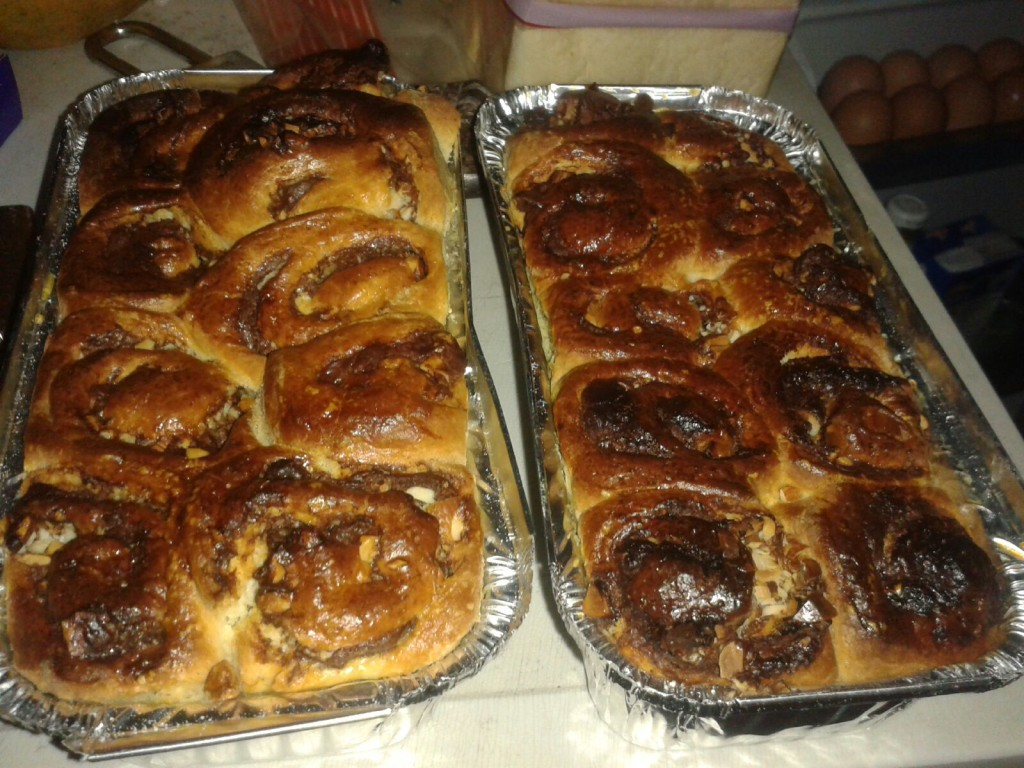 The results of my baking frenzy